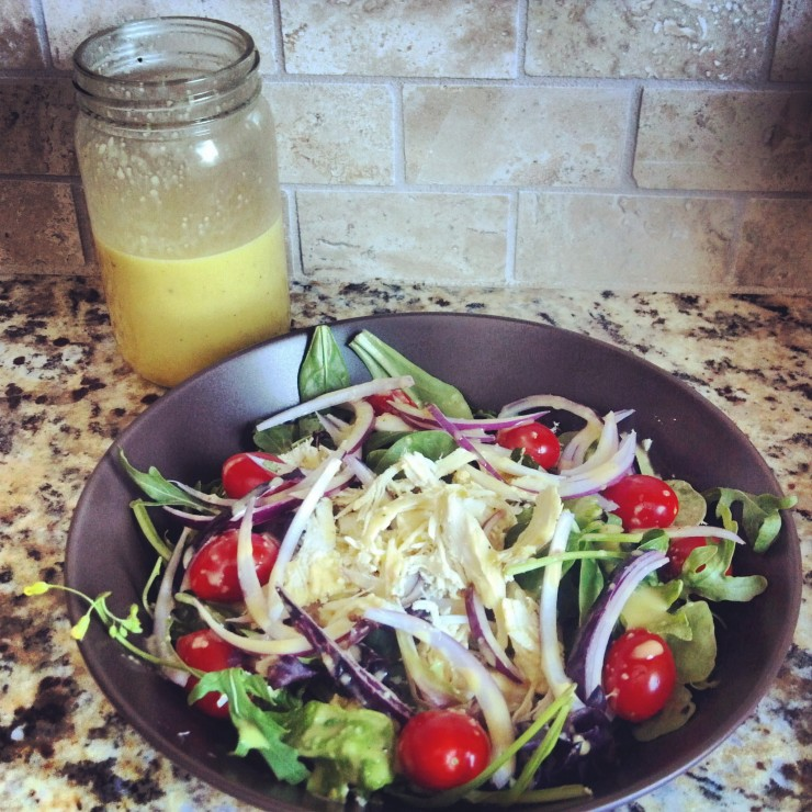 Sunshine Vinaigrette brightens up any salad!