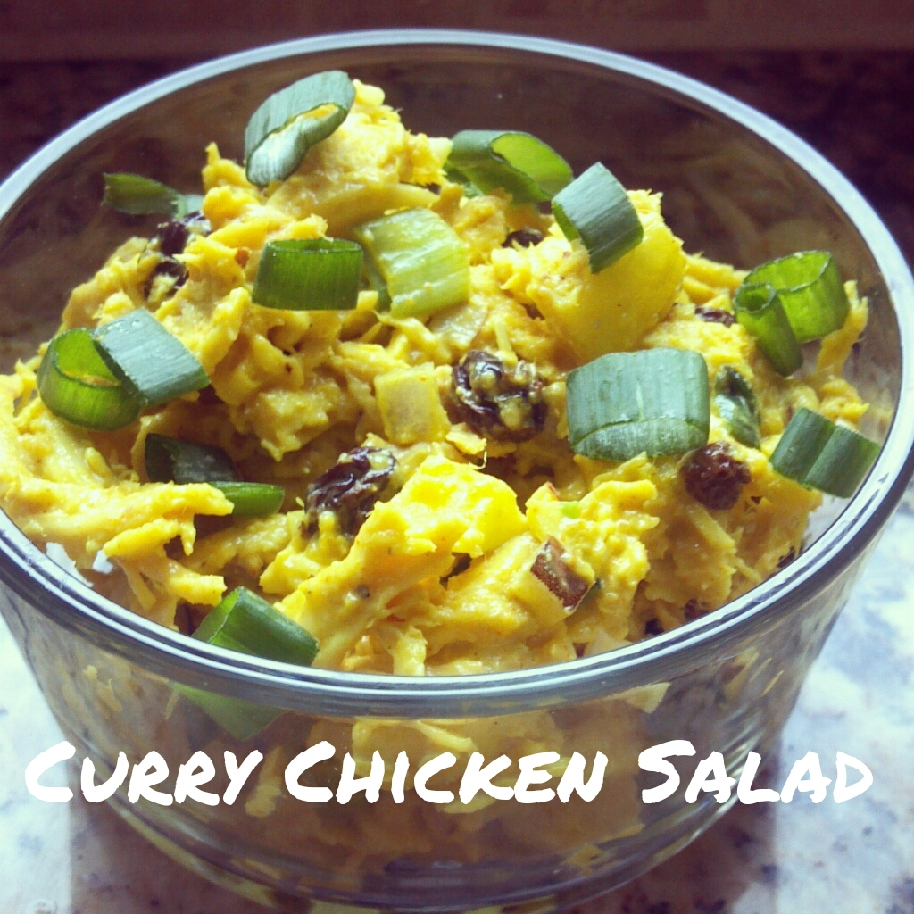 Curry Chicken Salad | Eat. Move. Live. Love.