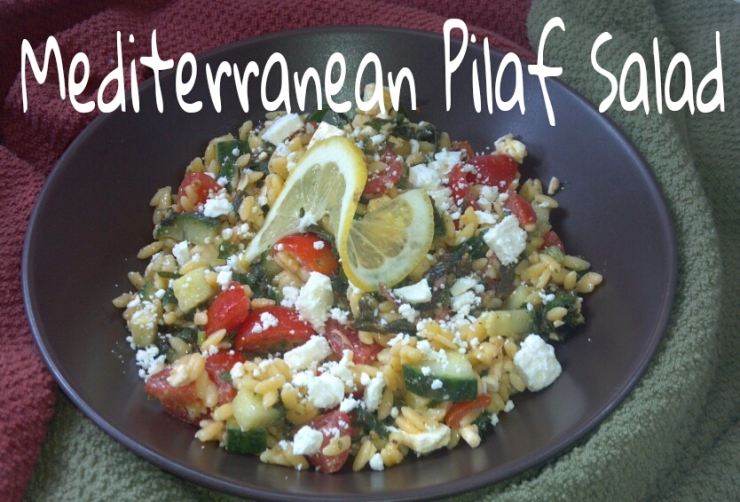 Mediterranean Pilaf Salad