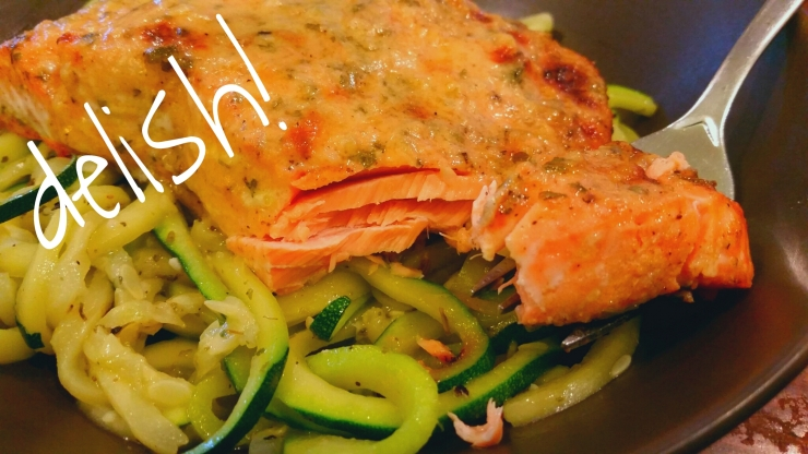 Baked Garlic Dijon Salmon