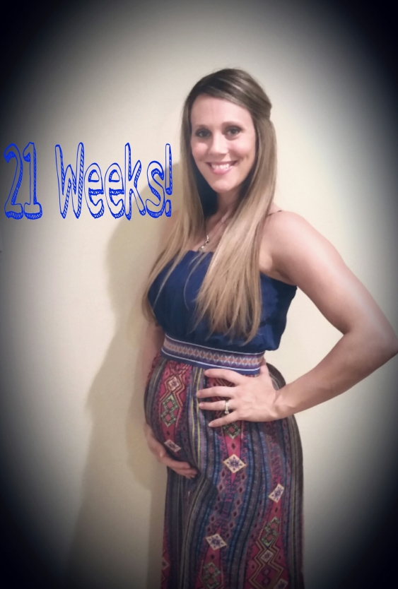 21 Weeks!  eatmovelivelove.com
