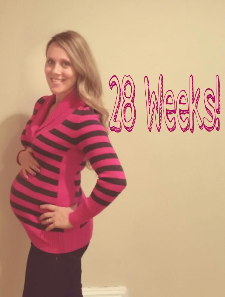 28 weeks!  www.eatmovelivelove.com