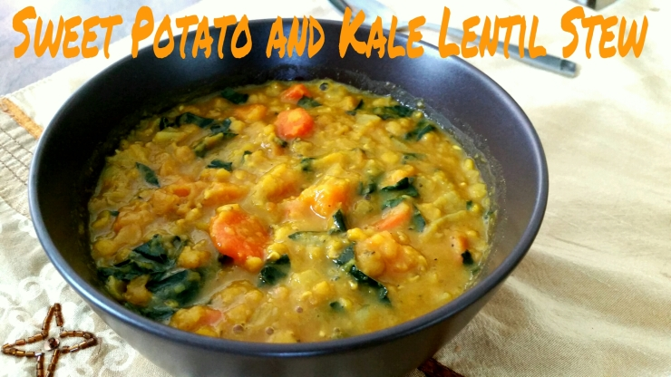 Sweet Potato and Kale Lentil Stew  www.eatmovelivelove.com